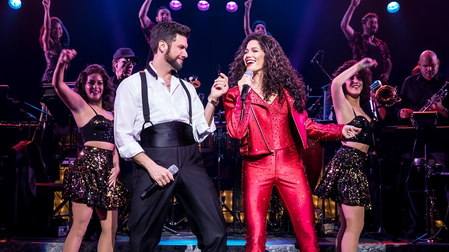 performers on stage in On Your Feet